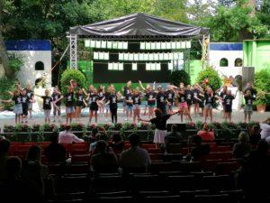 Abschlussfeier in der Freilichtbühne Coesfeld